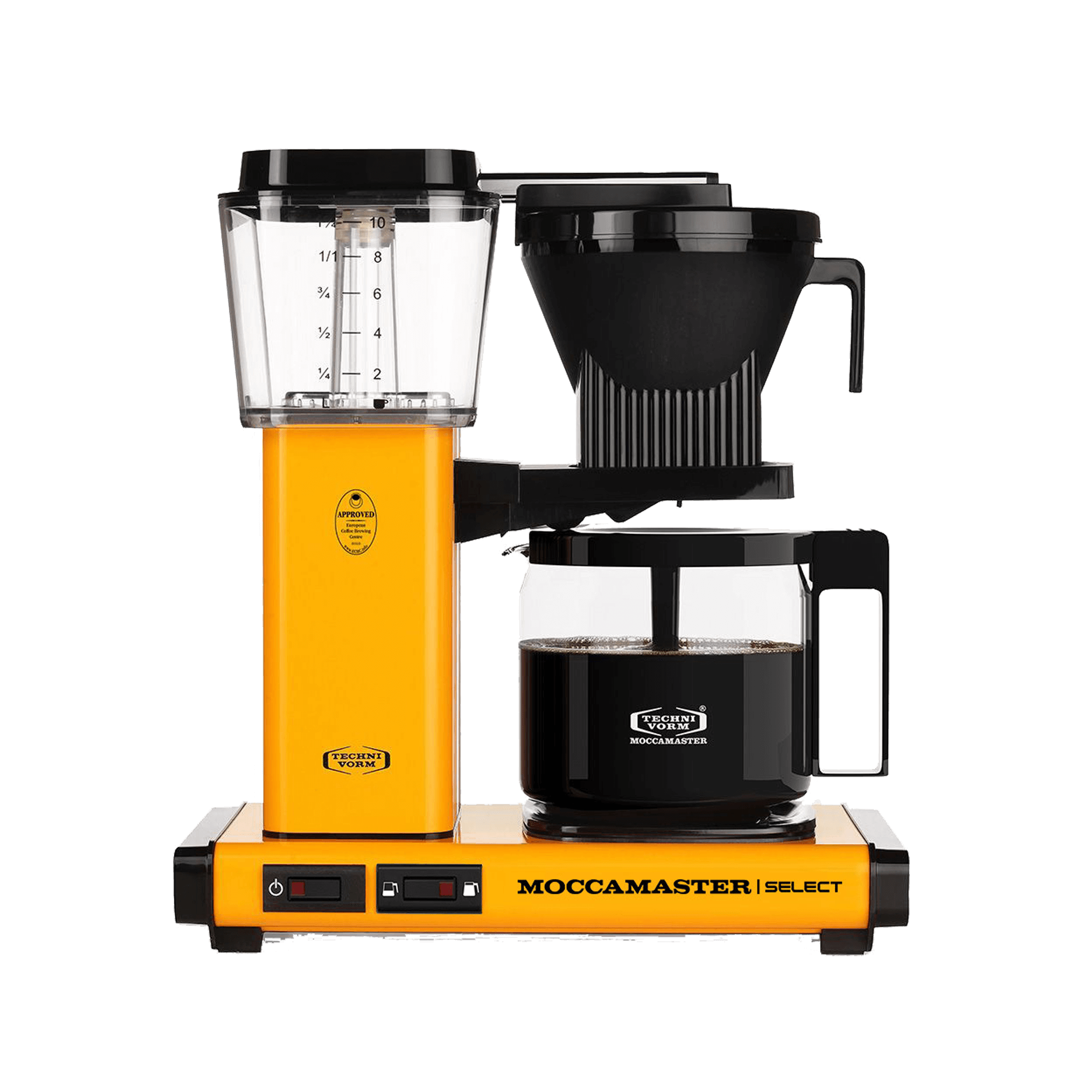 Moccamaster Kaffeemaschine KGB Select 53984 Yellow Pepper